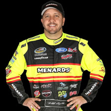 Matt Crafton, driver of the no. 88 Menards Truck for ThorSport Racing